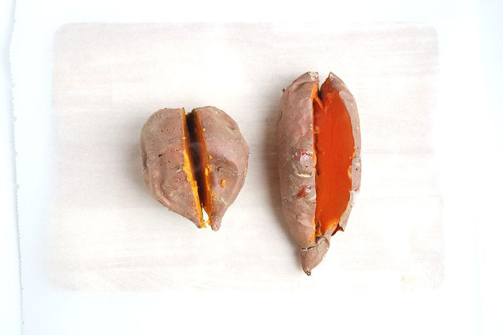 süßkartoffel zubereitung in der pfanne